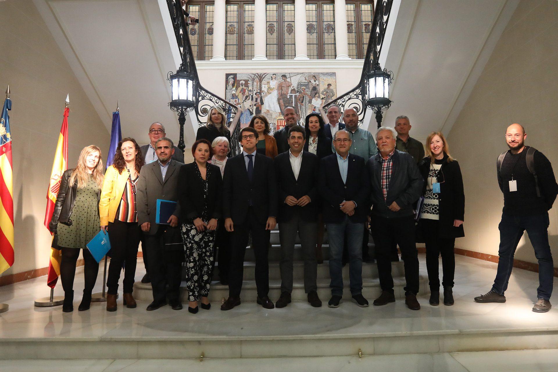 La Diputación de Alicante renueva su apoyo a la casa de acogida para niños saharauis enfermos de Alicante