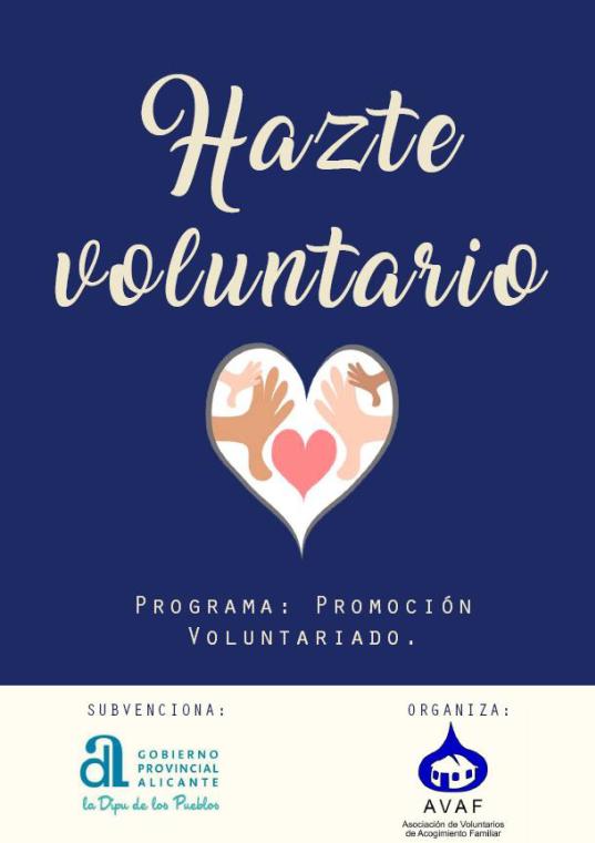 Programa de Promoción y Captación del Voluntariado