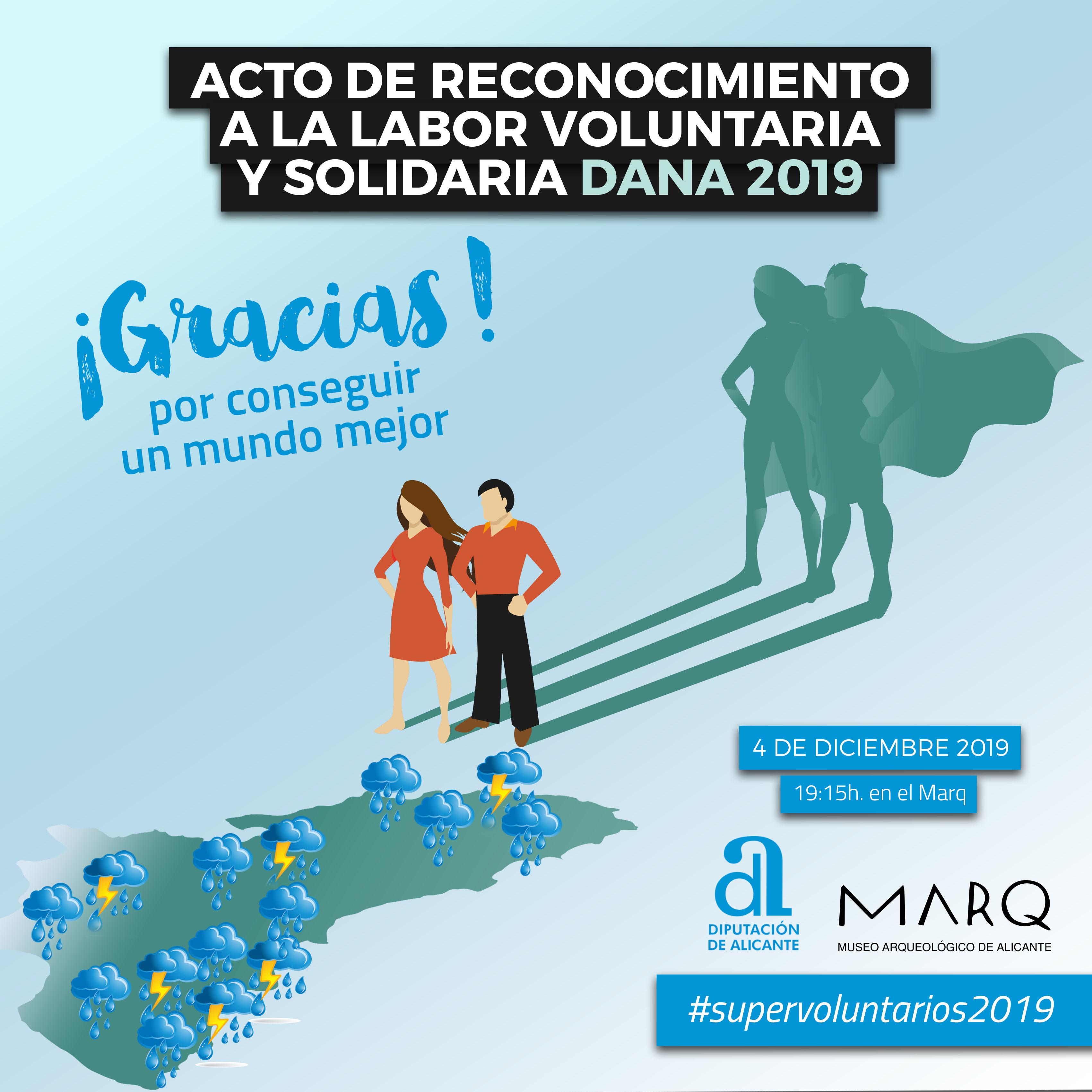 Acto de Reconocimiento a la Labor Voluntaria y Solidaria DANA 2019